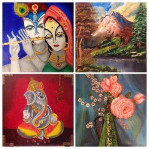 రాధికా వెంకట్ తో ముఖాముఖి-1_oil paintings