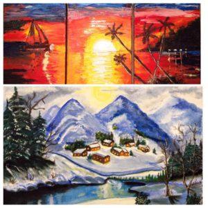 రాధికా వెంకట్ తో ముఖాముఖి-4_oil paintings