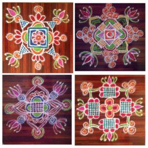 రాధికా వెంకట్ తో ముఖాముఖి-7_free hand rangoli